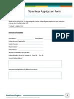FC Volunteer Application_Winter 2020