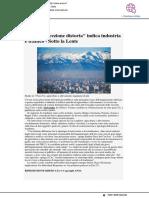 Smog, una percezione distorta indica industria e traffico - Ansa.it, 19 gennaio 2021