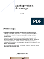 Investigatii Specifice in Dermatologie