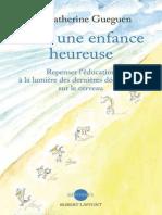 Pour une enfance heureuse - Catherine Guéguen