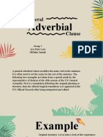 general adverbial clause_ 5th group