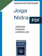 Swami Satyananda Saraswati - Joga Nidra (relaksacija, meditacija, uvođenje u san)