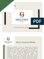 2. Opulence Affliate Presentation B