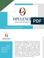 Opulence recovery Presentation