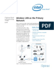 Wireless Lan as the Primary Network
