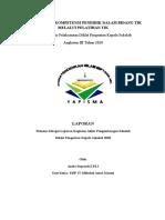 tugas 14 Menyusun Refleksi hasil pelaksanaan RPS (laporan)
