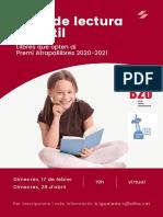 Club de Lectura Infantil 2020-2021