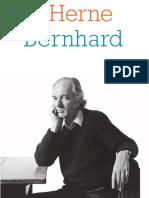 Cahier de L'Herne Thomas Bernhard