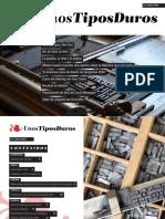 Revista unostiposduros.com - Introducción a Adobe InDesign