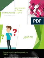 Programa de intervención en Trastorno de Estrés Postraumático (EXPOSICION)