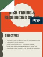 APT 2013 - T5- Organizing Risk-Taking & Resourcing Skills