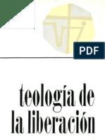 Gutierrez Gustavo_Teologia de La Liberacion
