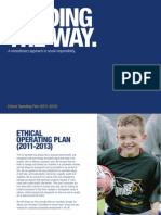 Co-op Ethical Operating Plan 2011-2013