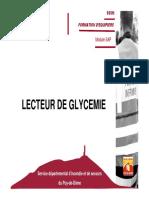 SAP_LECTEUR DE GLYCEMIE