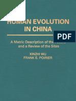 Wu & Poirier - Human Evolution in China - 95