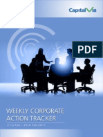 Weekly Corporate Action Tracker(21st Feb - 25th Feb)