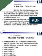 Thassos Marble Description