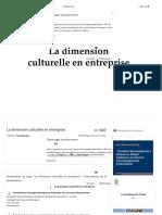 La dimension culturelle en entreprise - ppt video online télécharger