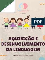 E-BOOK AQUISIÇÃO DE LINGUAGEM