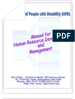 Apd Hr Manual