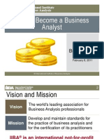 2011-02-08_IIBA_How_to_Become_Business_Analyst_Laura_Brandenburg