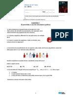 Porto Editora - Novo Espaco - 12 Ano 2017-18 - 1 Teste