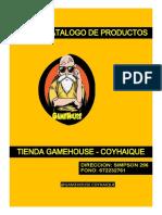 CATALOGO TIENDA GAMEHOUSE