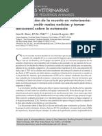 Comunicacion de la muerte en veterinaria - como transmitir malas noticias y tomar decisiones sobre la eutanasia.pdf