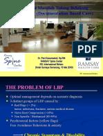 Rehabilitasi Masalah Tulang Belakang Dengan DBC (Makalah)Dr. Peni K, SpRM