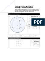 Spherical Astronomy Formulas