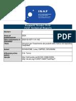 Istruzioni per l'inserimento dei prodotti della ricerca nel repository OA@INAF