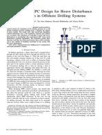 2013-Constrained mpc design for heave disturbance attenuation in offshore drilling systems.pdf