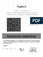 Clase 3 Algebra