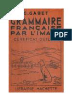 Langue Française Grammaire Française par l'Image 3 Certificat d'Etude