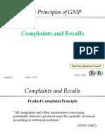 complaints & record