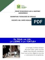 CLASE 1. INTRODUCCIÓN A LA TECNOLOGÍA DE CEREALES