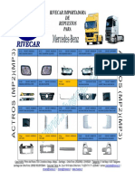 CATALOGO rivecar partes de carroceria m.benz chile