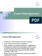 3. Event Management - II