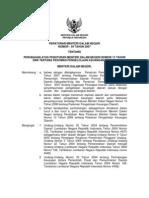 Permendagri Nomor 59 Tahun 2007 Tentang Pedoman Pengelolaan Keuangan Daerah Dan Lampiran