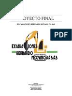 TABLA DE CONTENIDO PROYECTO  HSEQ