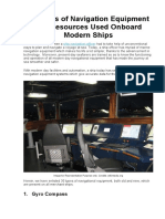 30 Types of Navigation Equipment and Resources Used Onboard Modern Ships.docx