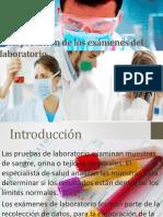 Interpretación de los exámenes del laboratorio