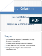 3. PR & Corp Comm - II