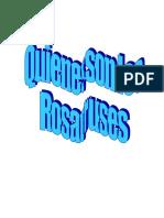 Quienes son los Rosacruses