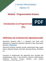 Cours 2  Introduction au PL