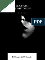 EL OFICIO DE HISTORIAR - Luis González.pdf