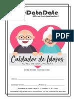 APOSTILA 2 DE CUIDADOR DE IDOSOS - PRIMEIROS SOCORROS DATADATE
