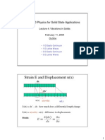 Physics for Solid State Applications