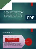 TRIBUNAL CONSTITUCIONAL Y REFORMA CE
