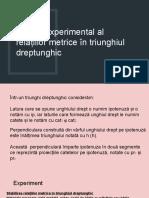 3. Studiul experimental al relațiilor metrice în triunghiul dreptunghic.pptx
